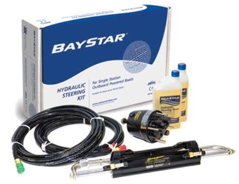 bass boat hydraulic steering kit baystar hydraulic outboard steering system hydraulic