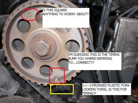 1989 2.3 *specific* timing belt question ford mustang forum