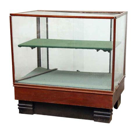 Demi Shelf by Glass Showcase With Single Demi Shelf Olde