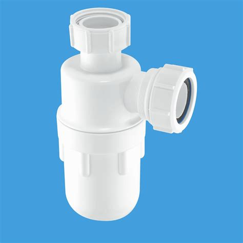 mcalpine 1 1 2 40mm kitchen sink bottle trap c10