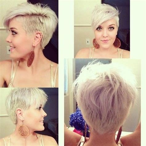 short style haircut women shaved back long front 20 stylish very short hairstyles for women styles weekly