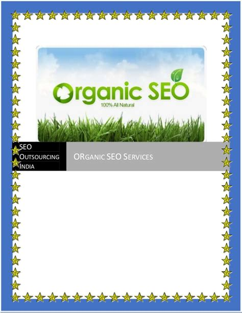 Organic Search Engine Optimization Services by Organic Seo Services India Organic Search Engine