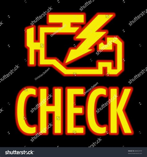 free check engine light scan near me check engine light symbol that pops stock photo 88002979