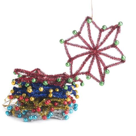 tinsel jingle bell snowflake ornaments snow snowflakes