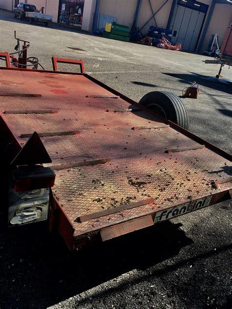rimorchio porta auto usato rimorchi per trattori e macchine agricole vendita trattori