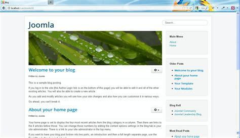 video tutorial joomla 3 0 joomla 3 0 how to install joomla engine template