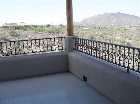 Decorating Balcony With Plants by Balcony Railing Traditional Deck Phoenix By