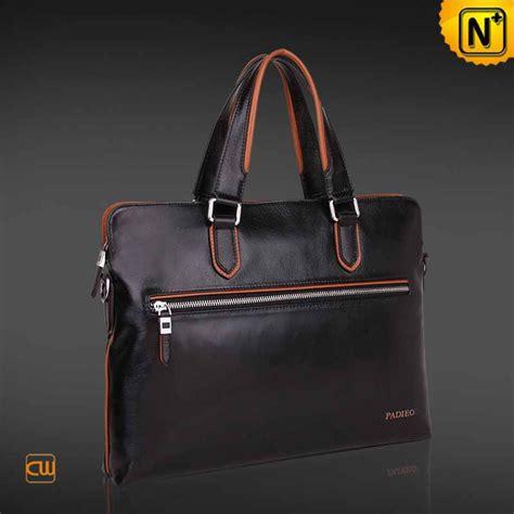 leather laptop bag mens italian slim leather laptop bag cw914007