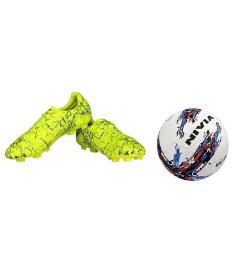 encounter football shoes nivia combo of encounter football shoes and football