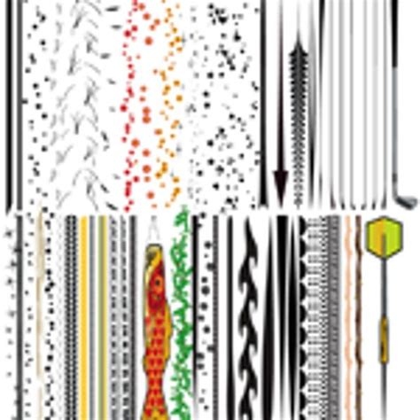 edit pattern brush illustrator 50 illustrator brushes for download