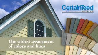 certainteed vinyl siding colors enterprise roofing siding