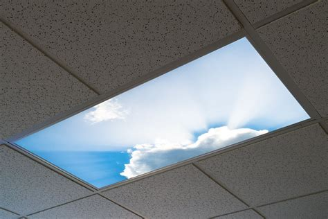 Ceiling Light Panel by Led Skylight 2x4 Dimmable Even Glow 174 Led Panel Light