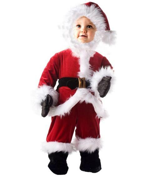 kids little santa christmas costume boys santa costumes