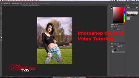 tutorial photoshop cc 2018 photoshop cc 2018 whats new video tutorial youtube