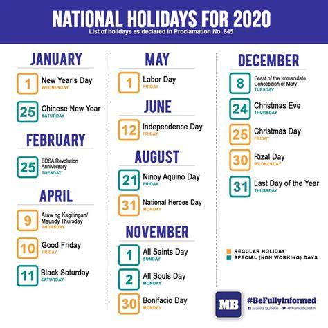 february  calendar  holidays philippines