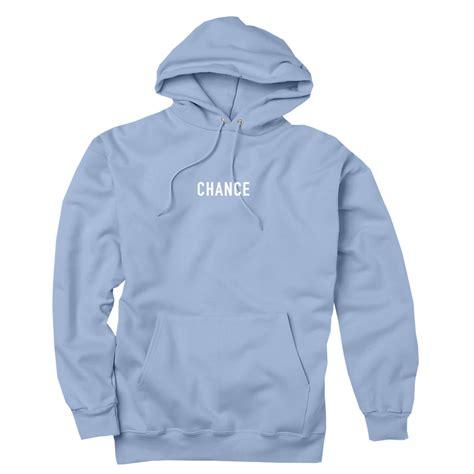 Hoodie Blur 1 chance 3 hoodie light blue chance the rapper