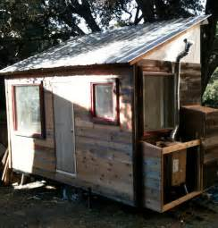 Cabin Blue Prints Diy Tiny House On A Trailer For 5 500