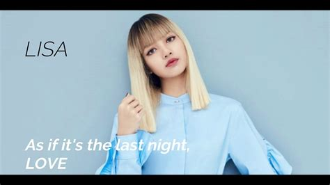 blackpink english lyrics blackpink as if it s your last english lyrics youtube