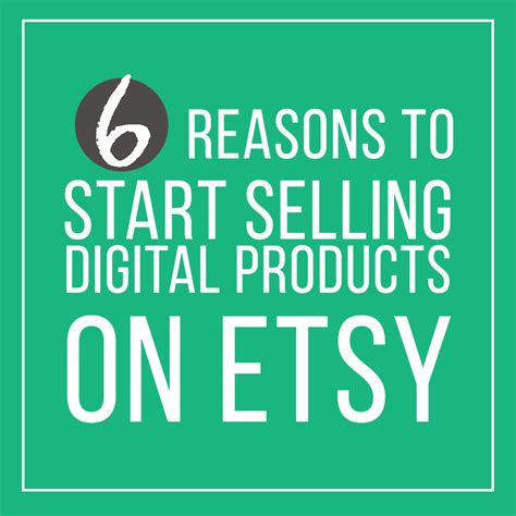 selling on etsy six reasons to start selling digital products on etsy