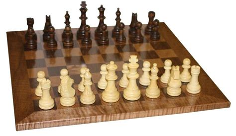 design game of chess amish handcrafted chess board game