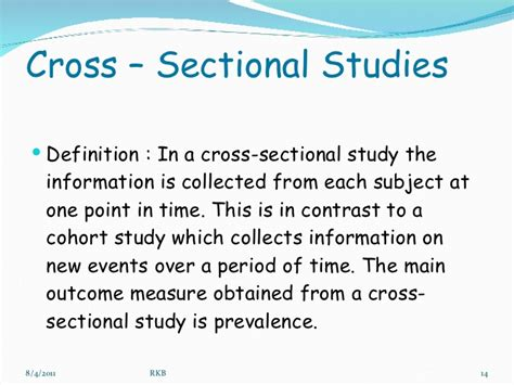 define cross sectional method quantitative research methods in medicine dr baxi
