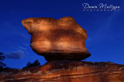 Garden Of The Gods Stargazing by Colorado Photography Gallery Darwin Mulligan Photography