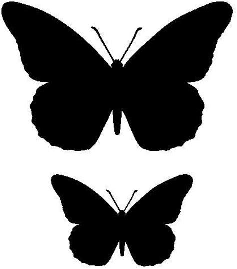 imagenes mariposas siluetas mariposa para recortar recursos atc pinterest diy y
