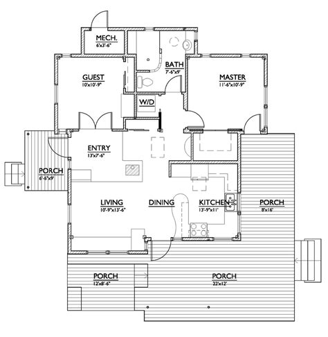 new home floor plans for 2013 new cabin and backyard cottage plans eye on design by
