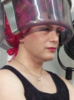 italian domme in hair curlers free afternoon at the salon doing my hair pwettiiii
