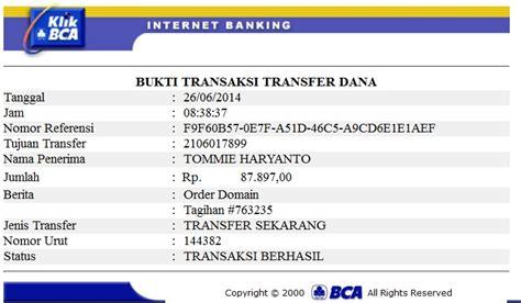 bca banking cara transfer uang lewat internet banking bca klikbca com