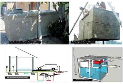 membuat filter air tandon aplikasi bahan material bangunan rumah dalam membuat