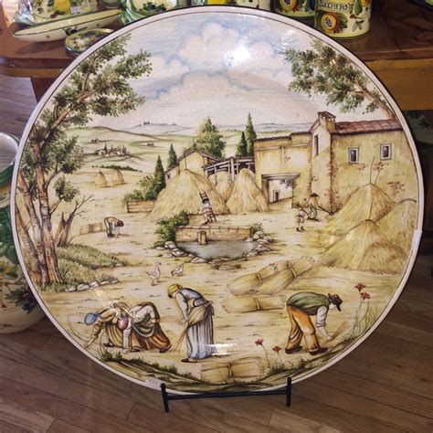 Decorative Platters by Tuscan Harvest Decorative Platter 1