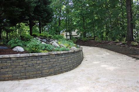 Interlocking Garden Wall Blocks Retaining Wall Interlocking Blocks Interlocking Concrete