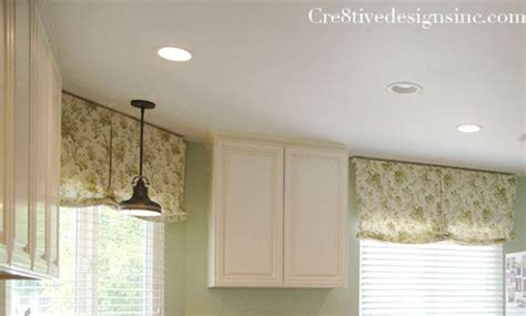 How To Make A Relaxed Shade Valance relaxed shade in a kitchen shades diy tutorial shades and valances