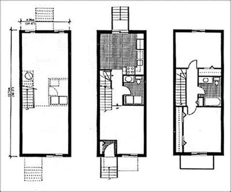 Façade Vitrée Maison by Plan Maison Fa 195 167 Ade Etroite