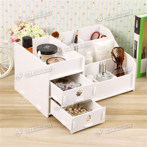 acrylic desk with drawers new make up storage wooden desk organiser acrylic drawers