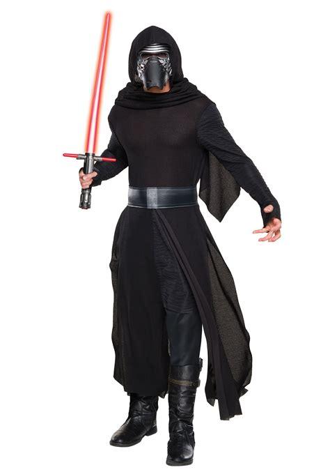 deluxe star wars force awakens kylo ren villain costume
