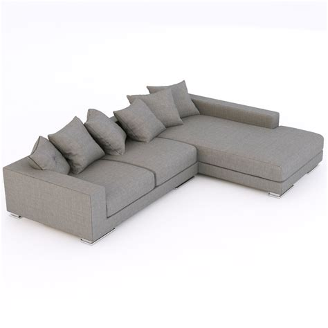 3d couch model modern sofa 7 3d models cgtrader com