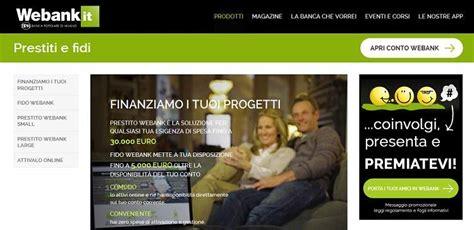 popolare di webank prestito webank portale prestito