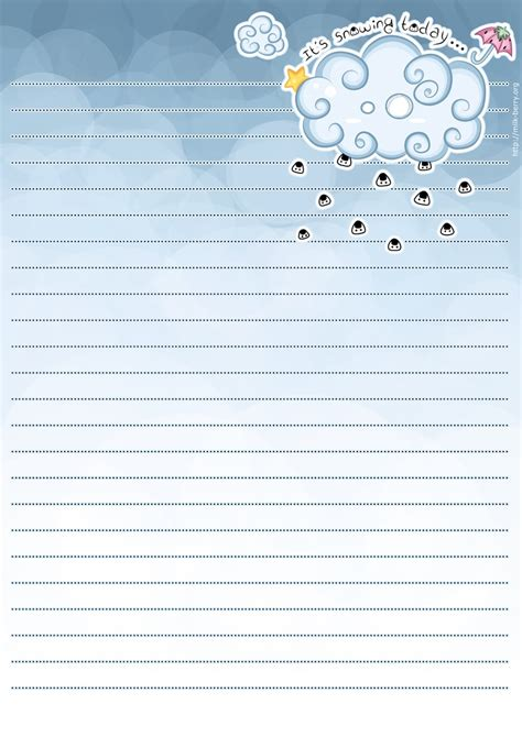 cloud writing paper 232 best stationery paper images on stationery