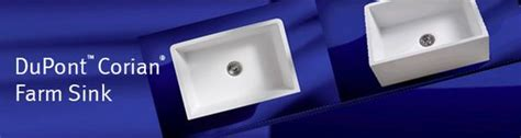 corian 690 farm sink dupont corian now has a farm sink ask for model 690