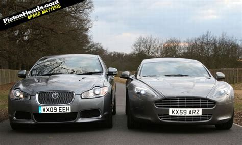 Jaguar Aston Martin by Jaguar Xfr Vs Aston Martin Rapide Pistonheads