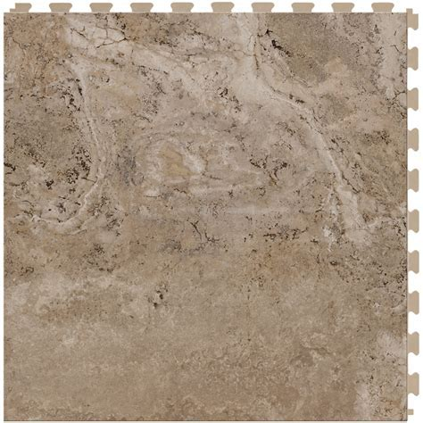 Shop Perfection Floor Tile Travertine 6 Piece 20 in x 20