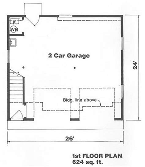 2 car garage square footage farmhouse style house plan 1 beds 1 baths 500 sq ft plan