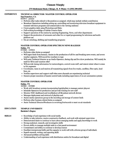 Gmdss Radio Operator Sle Resume by Room Operator Sle Resume Pizza Maker Resume