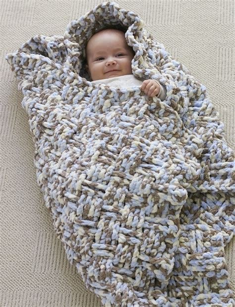 Best Yarn For A Baby Blanket by Dreamy Basket Weave Baby Blanket Pattern