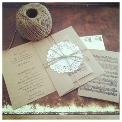 Best Handmade Wedding Invitations - handmade wedding invitation ideas infoinvitation co
