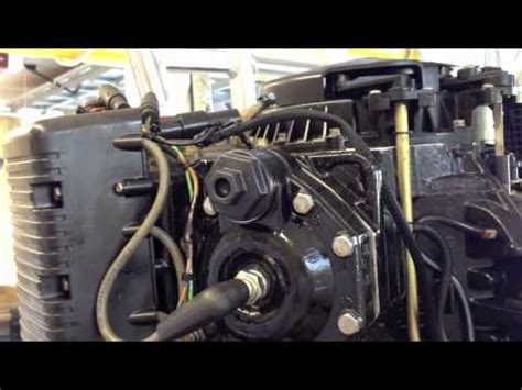 yamaha boat motor will not start 1996 evinrude 150 spark plug and thermostat replacement
