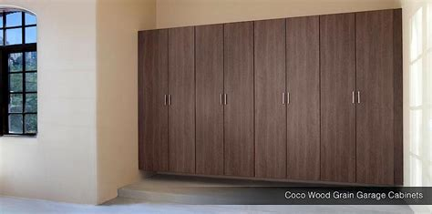 Wooden Cabinets For Garage by Wood Garage Cabinets Maple Garage Cabinets Coco Wood