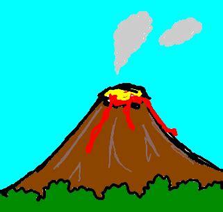 vulcão desenho de bobcob gartic